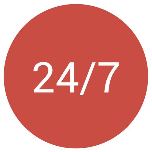24 7 circle